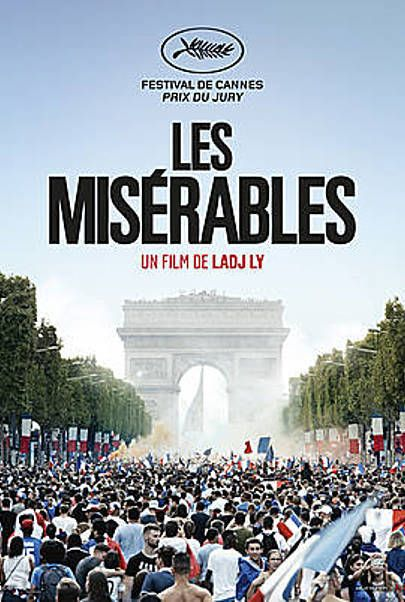 "Movie poster for ""LES MISÉRABLES"""