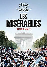 "Movie poster for ""LES MISERABLES"""