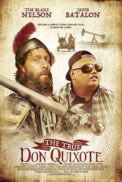 """Movie poster for """"THE TRUE DON QUIXOTE"""""""