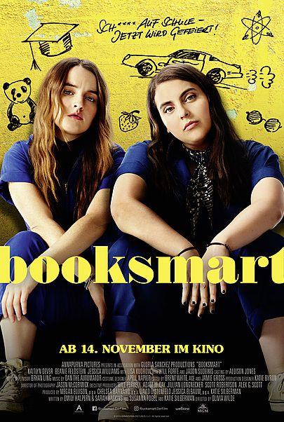 "Movie poster for ""BOOKSMART"""