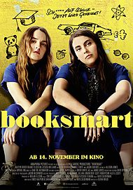"Movie poster for ""BOOKSMART"""