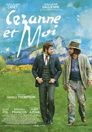 "Movie poster for ""CEZANNE ET MOI"""