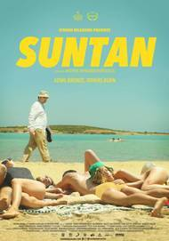 "Movie poster for ""SUNTAN"""