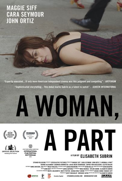 "Movie poster for ""A WOMAN A PART"""