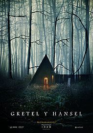"Movie poster for ""GRETEL AND HANSEL"""