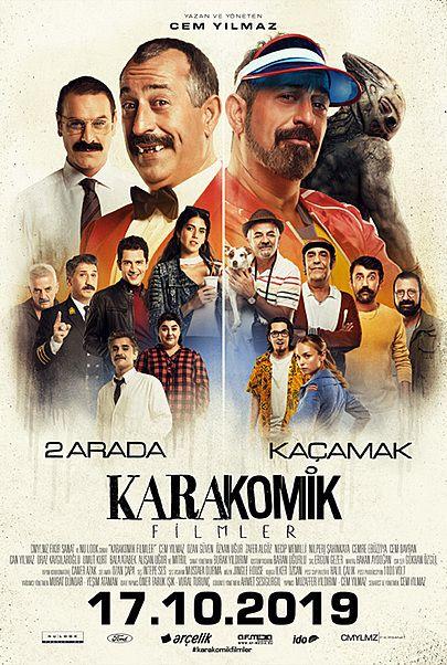 "Filmplakat für ""KARAKOMIK FILMLER"""