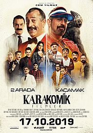 "Movie poster for ""KARAKOMIK FILMLER"""