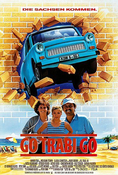 """Filmplakat für """"GO TRABI GO"""""""