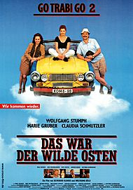 """Movie poster for """"GO TRABI GO 2 - DAS WAR DER WILDE OSTEN"""""""