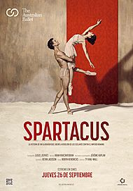 "Movie poster for ""EVENT CINEMA: SPARTACUS - THE AUSTRALIAN BALLET 2019"""