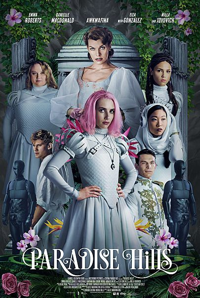 """Movie poster for """"PARADISE HILLS"""""""