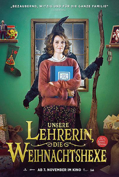 """Filmplakat für """"UNSERE LEHRERIN, DIE WEIHNACHTSHEXE"""""""