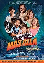"Movie poster for ""LOS RODRIGUEZ Y EL MAS ALLA"""