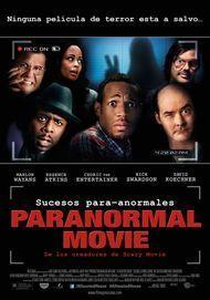 """Póster para """"Paranormal Movie"""""""