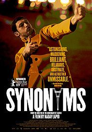"Movie poster for ""SYNONYMS"""