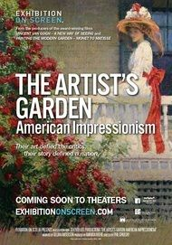 "Movie poster for ""THE ARTIST'S GARDEN: AMERICAN IMPRESSIONISM - Exhibition on Screen"""