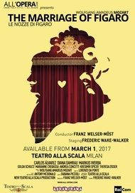 """Movie poster for """"THE MARRIAGE OF FIGARO - All'Opera"""""""