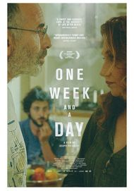 "Movie poster for ""ONE WEEK AND A DAY"""
