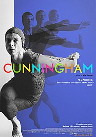 "Movie poster for ""CUNNINGHAM"""