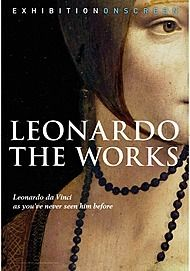 "Movie poster for ""LEONARDO: THE WORKS"""