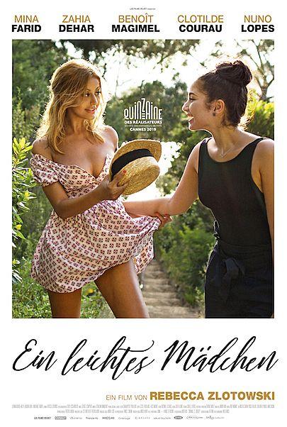 """Movie poster for """"EIN LEICHTES MÄDCHEN - Filmstart in Österreich"""""""