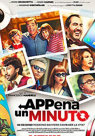 "Movie poster for ""APPENA UN MINUTO"""