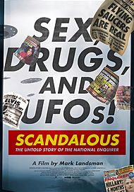 "Movie poster for ""SCANDALOUS"""