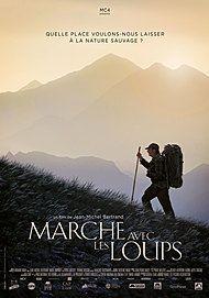 """Movie poster for """"MARCHE AVEC LES LOUPS"""""""