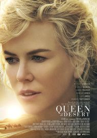 "Movie poster for ""QUEEN OF THE DESERT"""