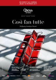 "Movie poster for ""COSI FAN TUTTE Opera national de Paris"""