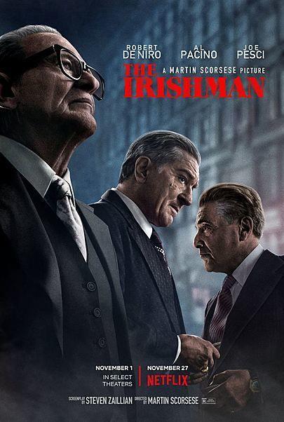 """Filmplakat für """"THE IRISHMAN"""""""