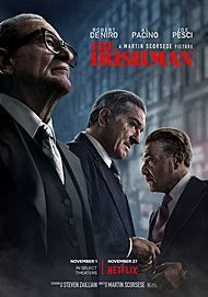 "Movie poster for ""THE IRISHMAN"""