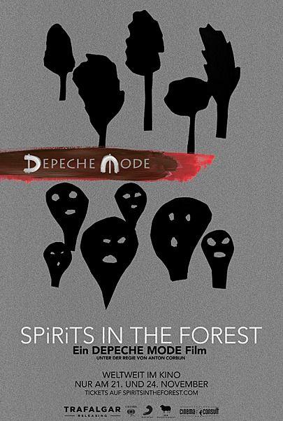 """Filmplakat für """"DEPECHE MODE: SPIRITS IN THE FOREST"""""""