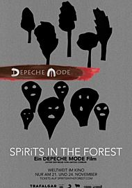 """Movie poster for """"DEPECHE MODE: SPIRITS IN THE FOREST"""""""