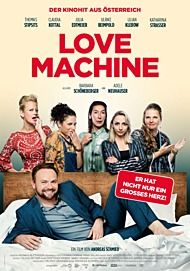 "Movie poster for ""LOVE MACHINE"""