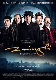 """Movie poster for """"ZWINGLI - DER REFORMATOR - FILMSTART IN ÖSTERREICH"""""""