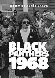 "Movie poster for ""BLACK PANTHERS"""