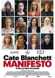 "Movie poster for ""MANIFESTO"""