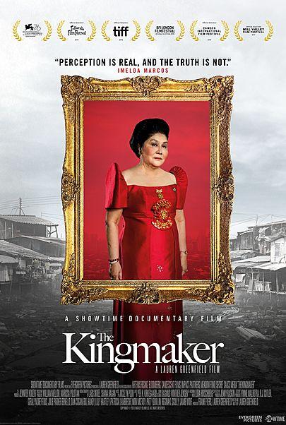 "Movie poster for ""THE KINGMAKER"""
