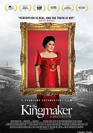 "Movie poster for ""THE KINGMAKER"""