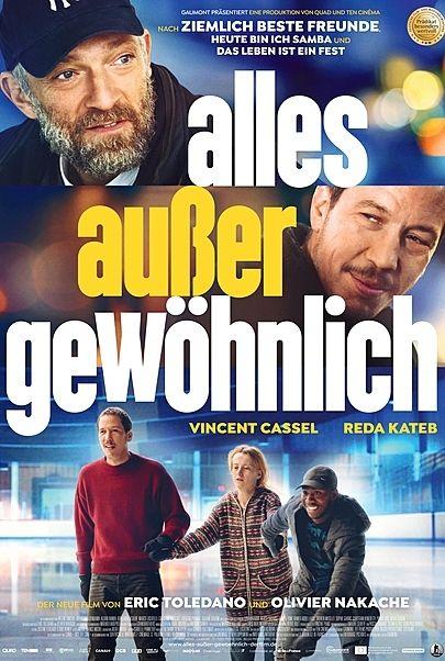 """Filmplakat für """"ALLES AUßER GEWÖHNLICH"""""""