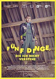 """Filmplakat für """"FÜNF DINGE, DIE ICH NICHT VERSTEHE"""""""