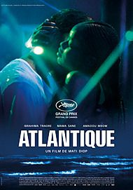 "Movie poster for ""ATLANTICS"""