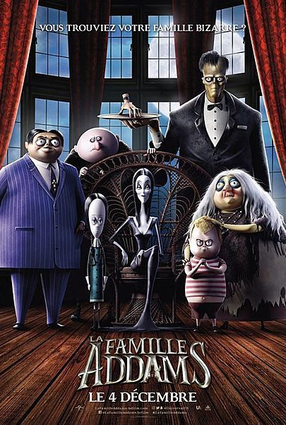 """Movie poster for """"THE ADDAMS FAMILY """""""