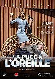 "Movie poster for ""LA PUCE A L'OREILLE (COMEDIE FRANCAISE)"""