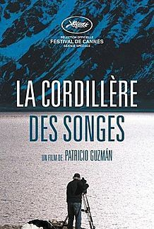 "Movie poster for ""THE CORDILLERA OF DREAMS"""