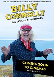 """Movie poster for """"BILLY CONNOLLY - THE SEX LIFE OF BANDAGES"""""""