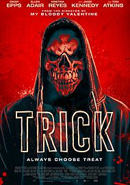"Movie poster for ""TRICK"""