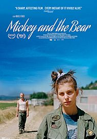 "Movie poster for ""MICKEY AND THE BEAR"""