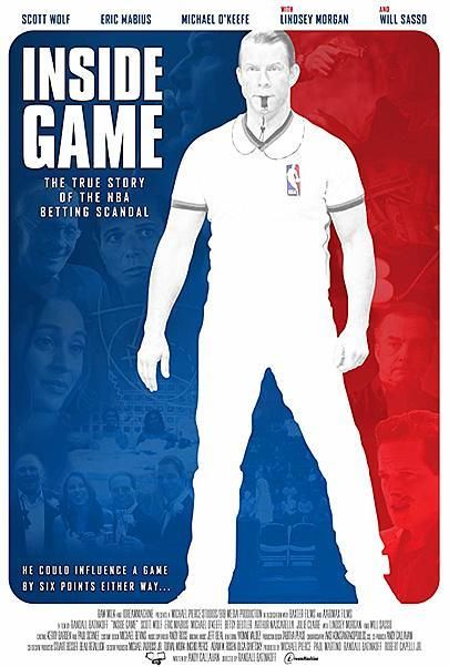 "Movie poster for ""INSIDE GAME"""